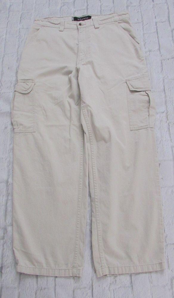 1c6c1e482b Men's Vintage 1998 Levis Silvertab Khaki Cargo Pants Size 34x32 #Levis  #Cargo