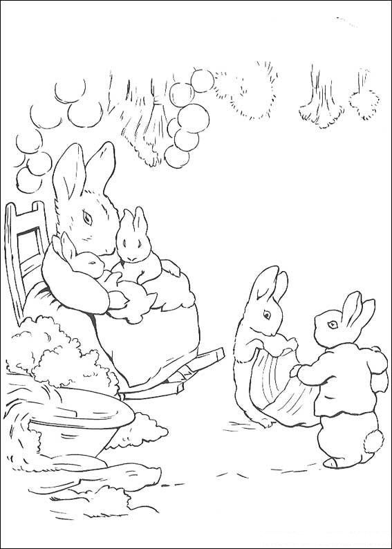 Kids N Fun 29 Coloring Pages Of Peter Rabbit Peter Rabbit And Friends Peter Rabbit Illustration Beatrix Potter Illustrations
