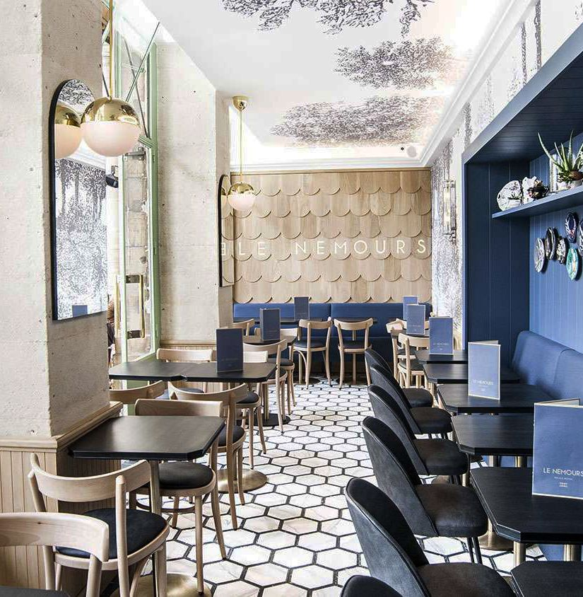 le nemours h tel restaurant bar pinterest. Black Bedroom Furniture Sets. Home Design Ideas