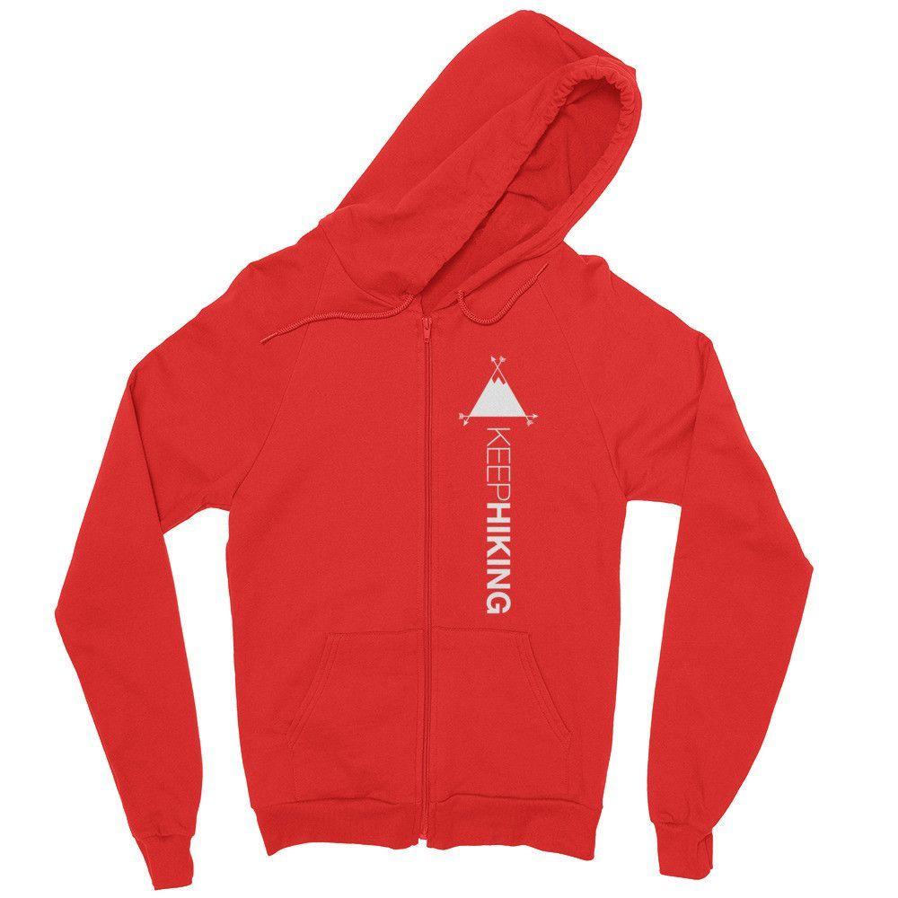 Keep Hiking Zip hoodie