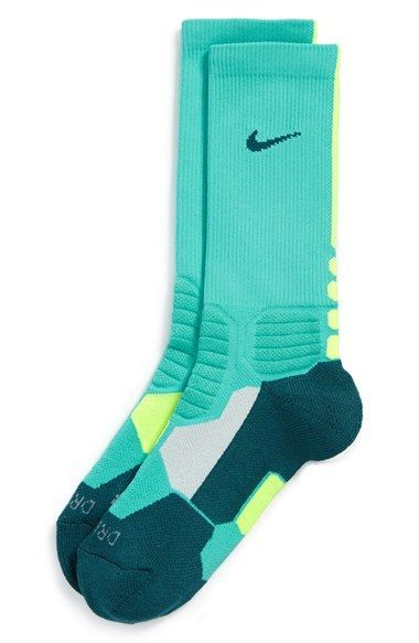 Nike Hyper Elite Dri-FIT Basketball Socks (Big Kid) 2bd26a0e04