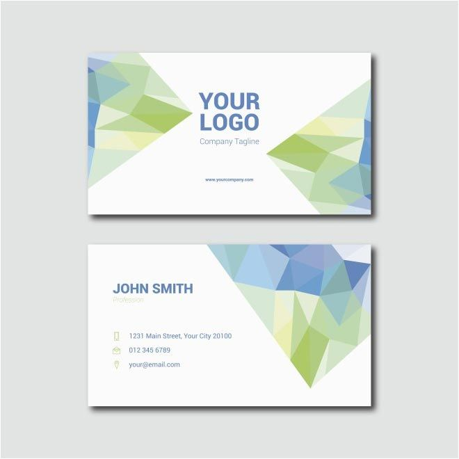 Free Vector John Smith Business Cards Free Vector Miscellaneous