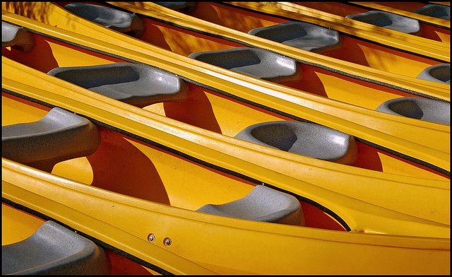 yellow boats by gr1234, via Flickr