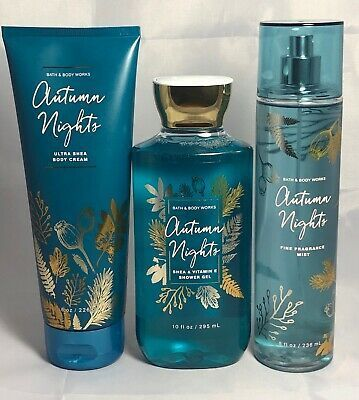 Photo of 1 Bath & Body Works Autumn Nights Ultra Shea Cream Hand Lotion 8oz Large for sal…