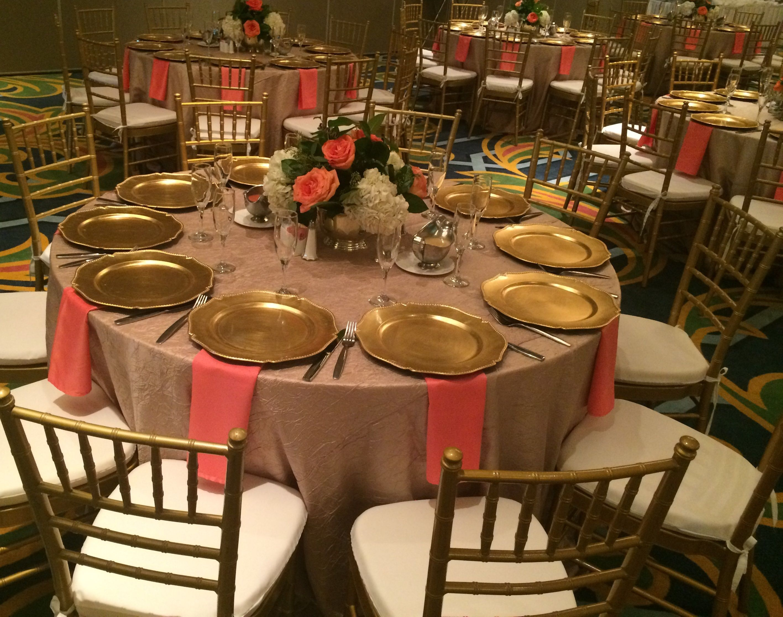 Table setting @MGHotelWEDDING Galveston, Texas #wedding #table #idea ...