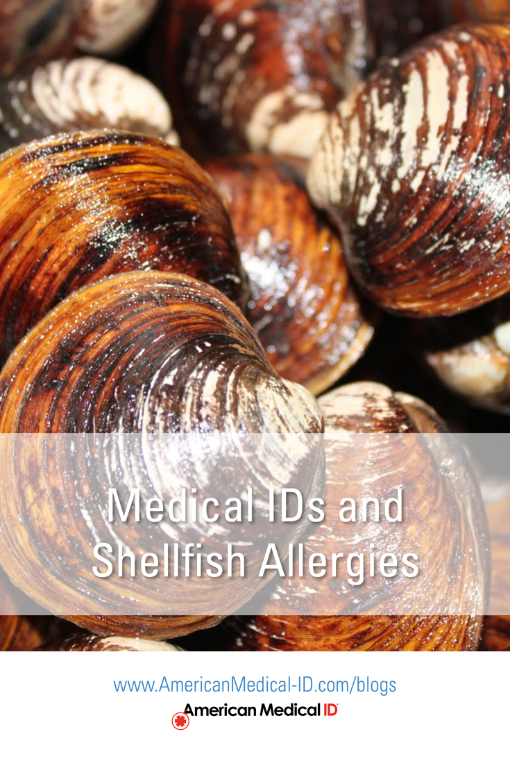 Shellfish allergy bracelets or shellfish allergy jewelry is probably the last thing on anybody's mind when dealing with moderate to severe shellfish allergies...Read More>