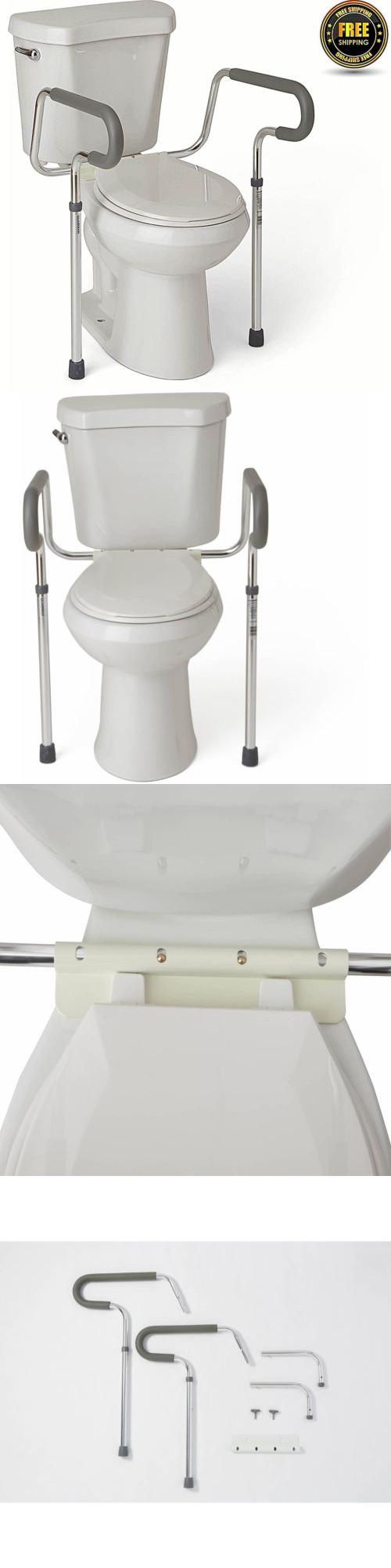 Handles and Rails: Handicap Grab Bars Adjustable Toilet Safety ...