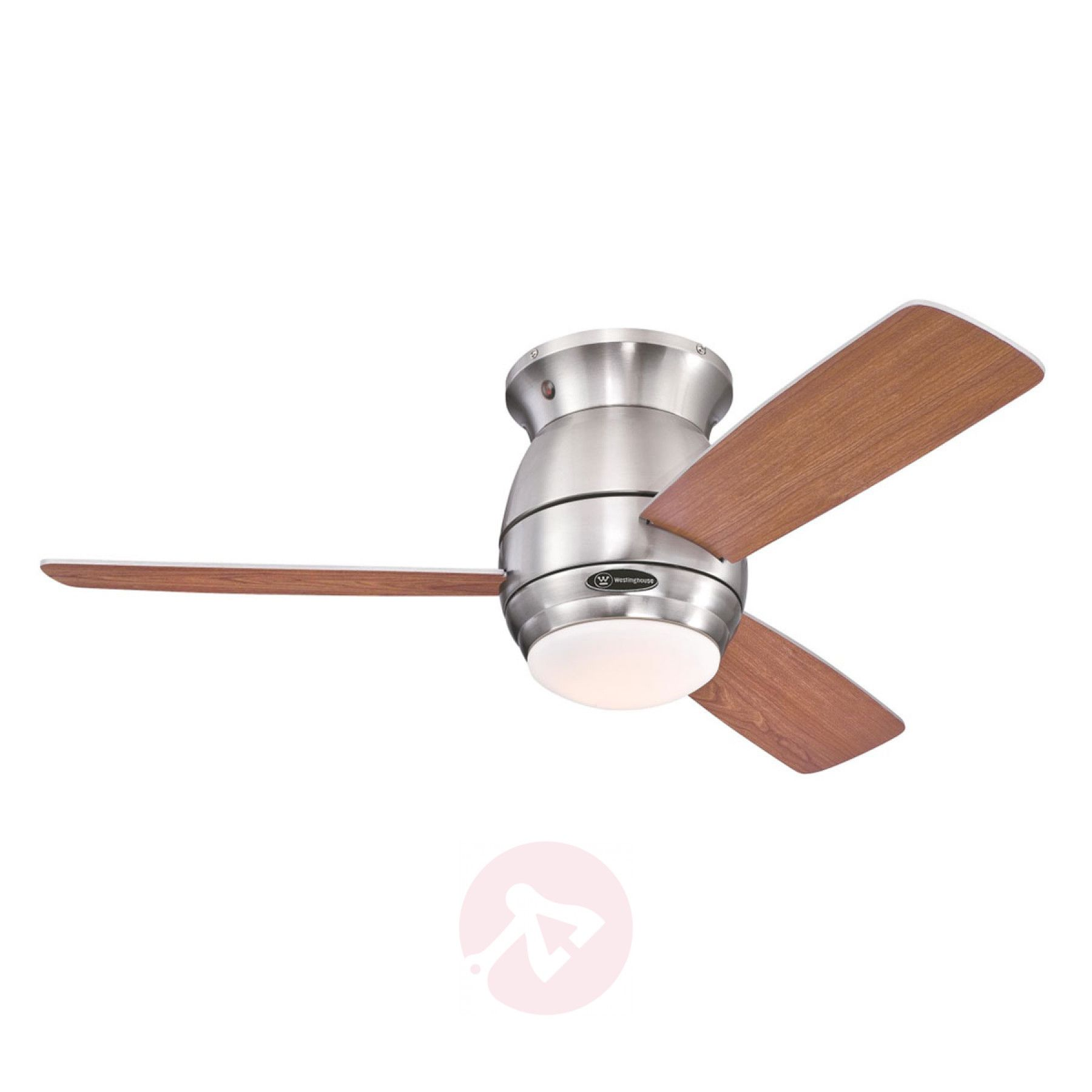 Westinghouse Halley Ventilator Flugel Ahorn Kirsch Ventilator Rotes Glas Deckenventilator