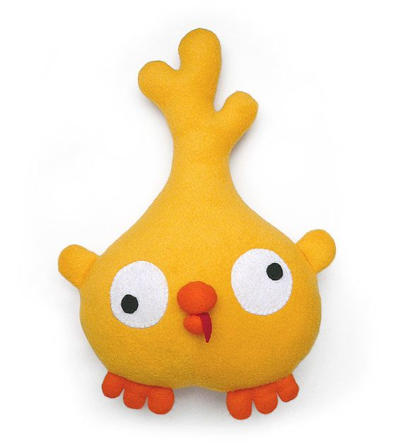 Sewing pattern Poloko chick stuffed animal toy PDF by DIYFluffies ...