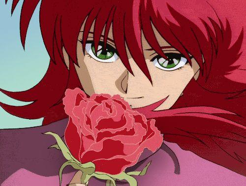 Kurama (Shuichi Minamino), Yu Yu Hakusho hes my Fav from this anime :D |  Anime, Anime shows, Aesthetic anime