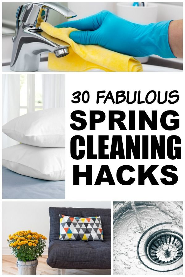 30 spring cleaning hacks condos favorite things and weather What month is spring cleaning