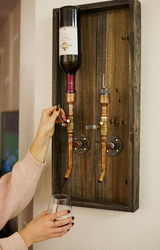 Bar Design Ideen Handmade Liquor Dispenser | Whiskey Dispenser | Wine