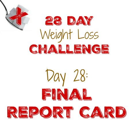 We are DONE with the 28 Day Challenge!  Click to see what happened!