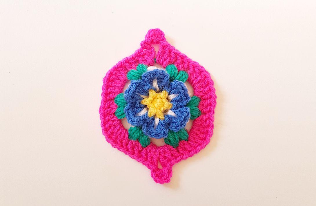 PROJECT #020: MOROCCAN GARDEN | Muestras de crochet | Pinterest ...