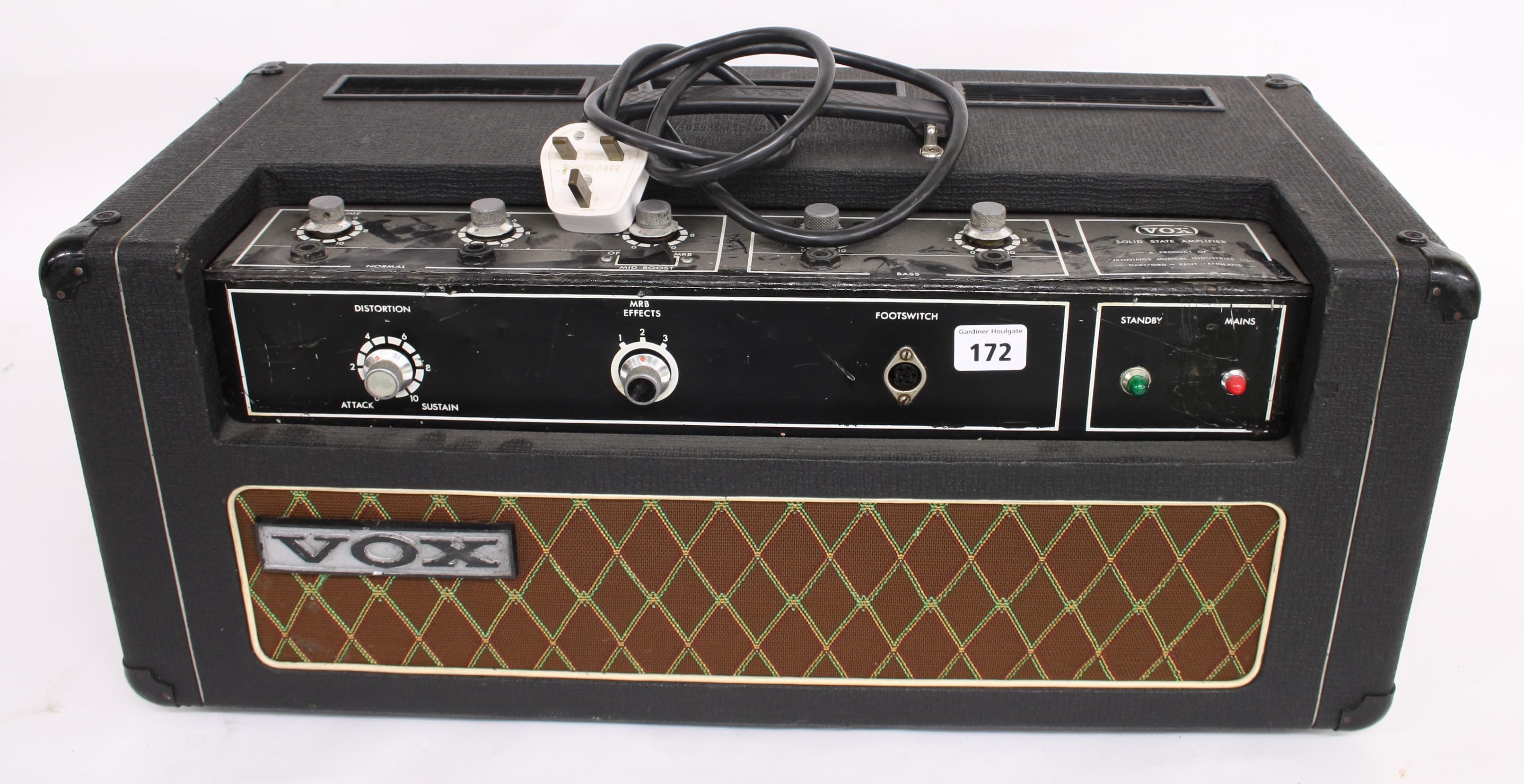 Vox Solid State Amplifier