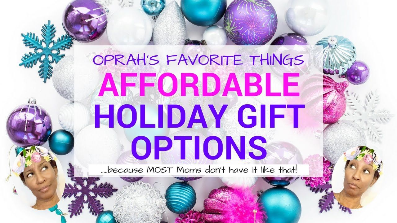 Oprah's Favorite Things 2016 ~ Affordable Holiday Gift ...
