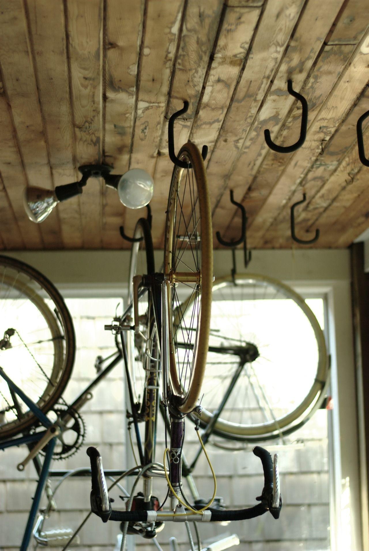 Tazas De Miel 自転車の収納庫 自転車 メンテナンス 自転車収納