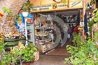 Anchovy Shop Collioure - Download From Over 26 Million High Quality Stock Photos, Images, Vectors. Sign up for FREE today. Image: 38878339