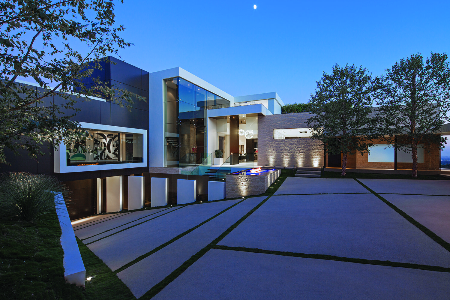 1201 Laurel Way A Beverly Hills Luxury Estate Modern Mansion Architecture Mansions