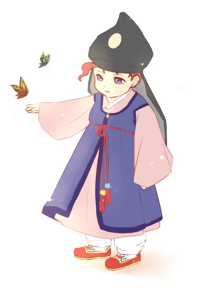 Korean clipart hanbok - Pencil and in color korean clipart ...
