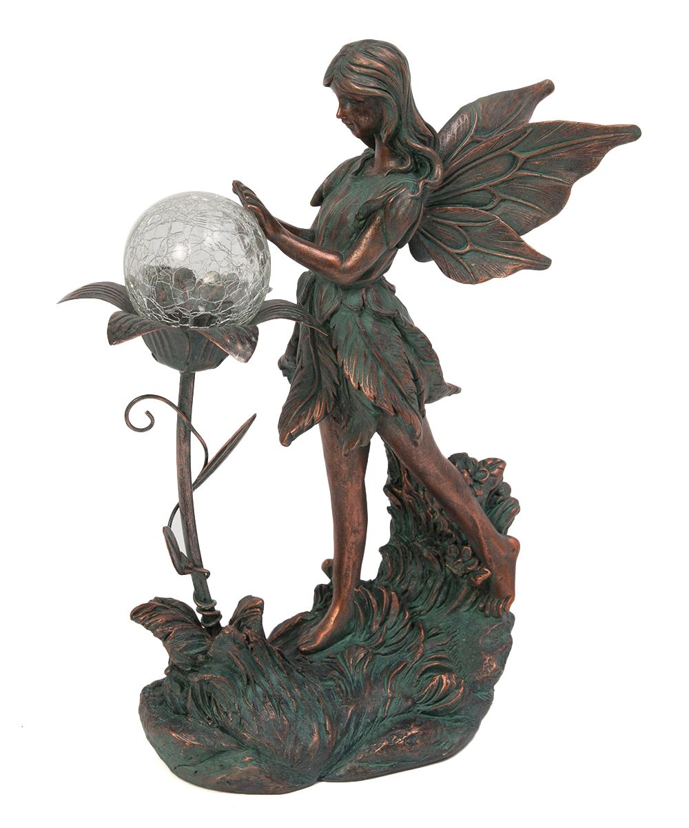Photo of Fairy & Flower Solar Figurine