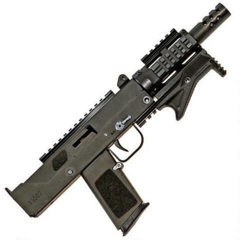 Masterpiece Arms Defender Pistol 9mm, 5 5