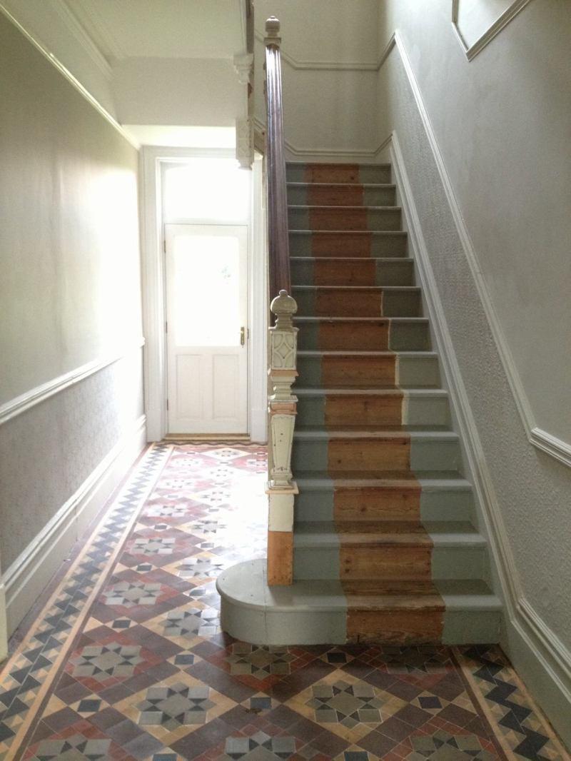 Beautiful Edwardian Staircase Long Days Journey Into Night - Edwardian house interiors