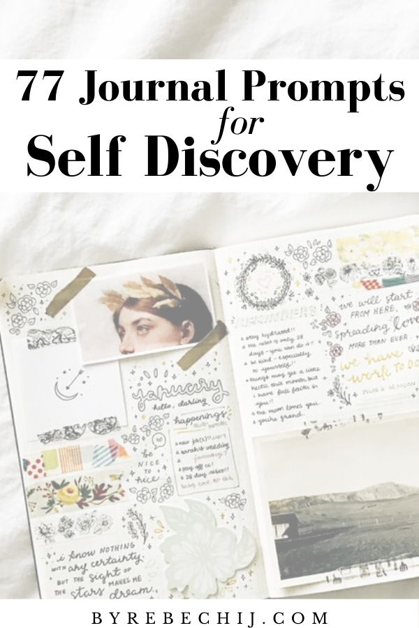 77 Journal Prompts For Self-Discovery and Personal-Growth (Self Development)