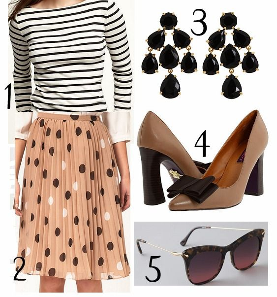 love the polka dots and stripes