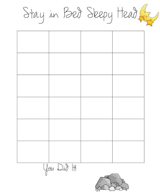 Do It Yourself Divas Diy Goal Sticker Chart To Help My Kid Stay In Bed Sticker Chart Toddler Sticker Chart Sleep Chart
