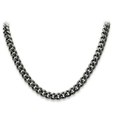 Black Rhodium | Link necklace