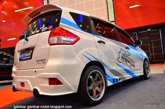 Foto Modifikasi Mobil Suzuki Ertiga