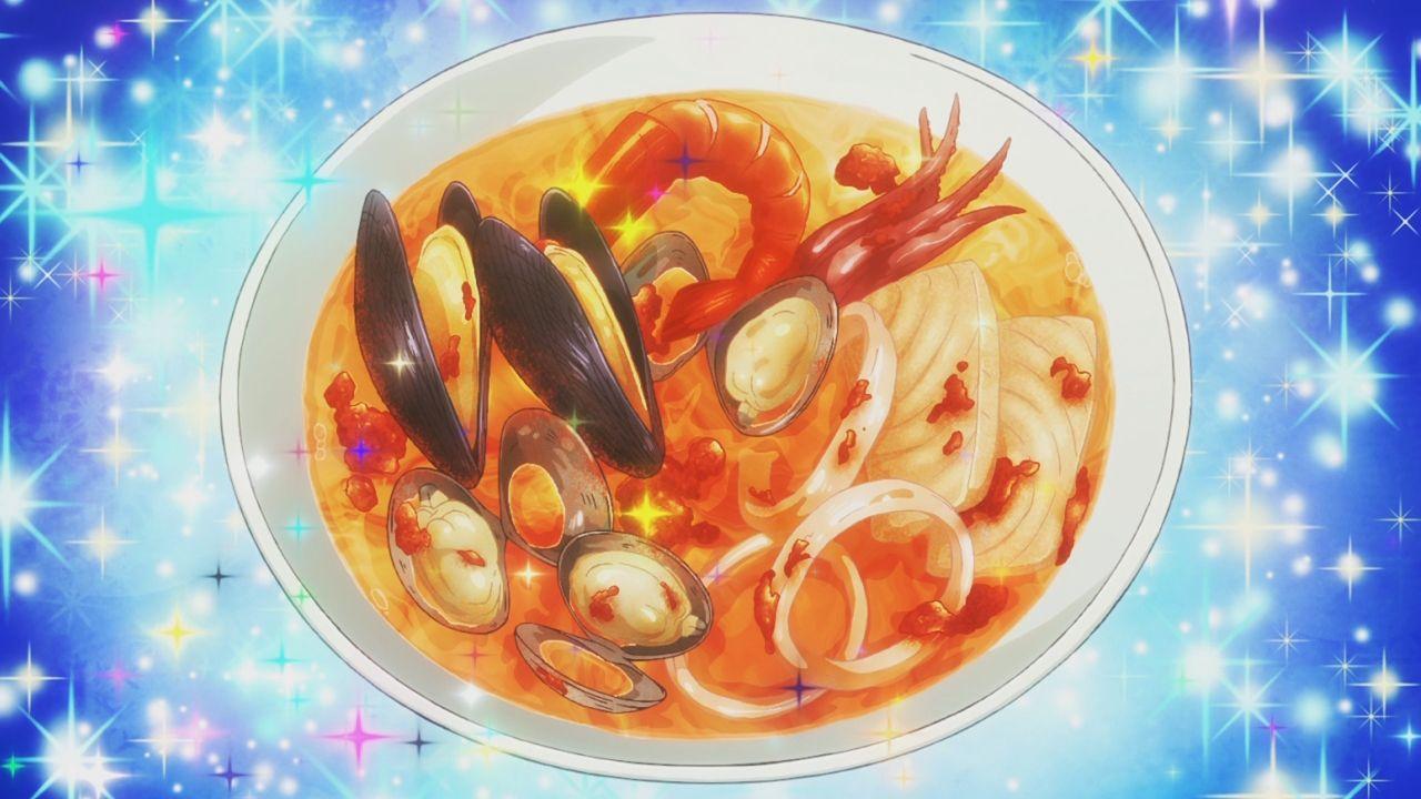 Anime Food Piace Watashi No Italian Episode 10 Food Food Illustrations Kawaii Food