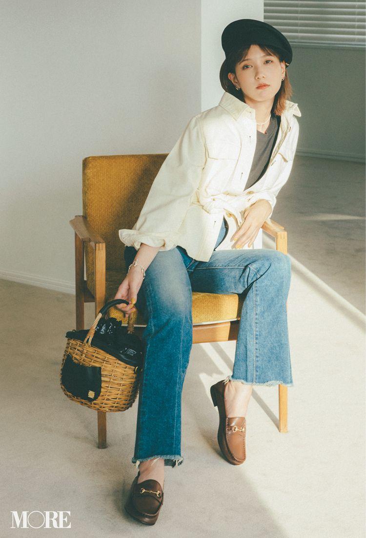 本田翼が魅せるローファーコーデ 大ヒット中アイテムでスカートもパンツもおしゃれになる ファッション ローファー コーデ レディース おしゃれ