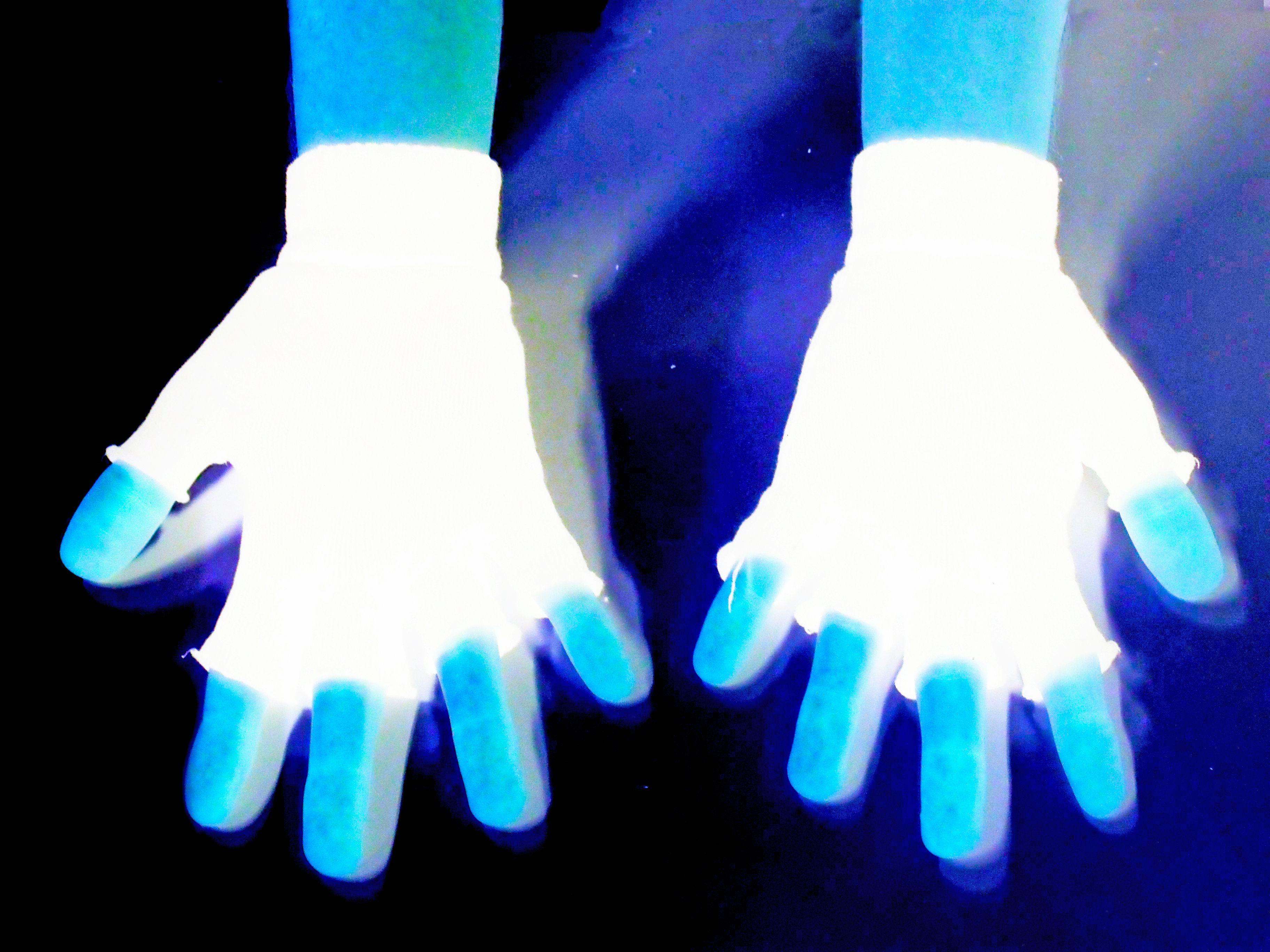 AS LUVAS  Como eu sou a única pessoa que eu conheço que usa quase todo dia luvas abertas nas  pontas, eu as utilizei para me representar, vendo-se que(pelo menos entre as pessoas ao meu redor) eu sou o único que as uso e isso é uma característica única minha. Eu fiz a inversão para parecer que a minha mão e  luvas estivessem por aí no universo, sozinhas  e únicas. Leonardo Lima             turma: 1002