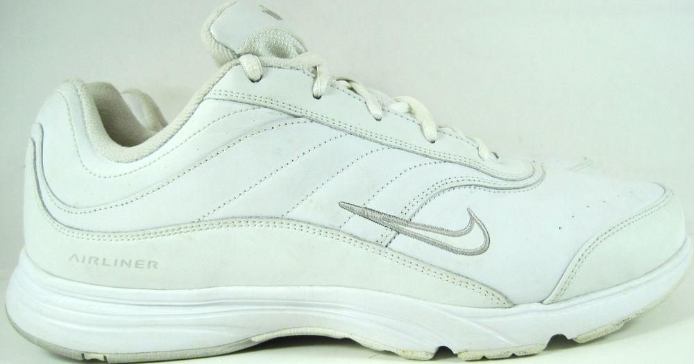 Nike Women Airliner Sneakers Size 12 White Style 312895-111. GAG 26 #Nike #RunningCrossTraining