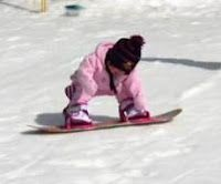And Baby S First Tracks Ride Video Of 1 Year Old Learning To Snowboard As Well As Tons Of Tips On Teac Kids Snowboarding Snowboard Kids Ski Wear