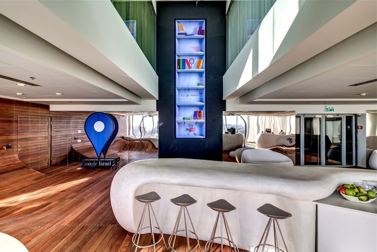 google tel aviv office tel. The Tel Aviv Office Occupies Seven Floors, A Total Area Of Square Feet, And Looks Like Your Dream Apartment. Google