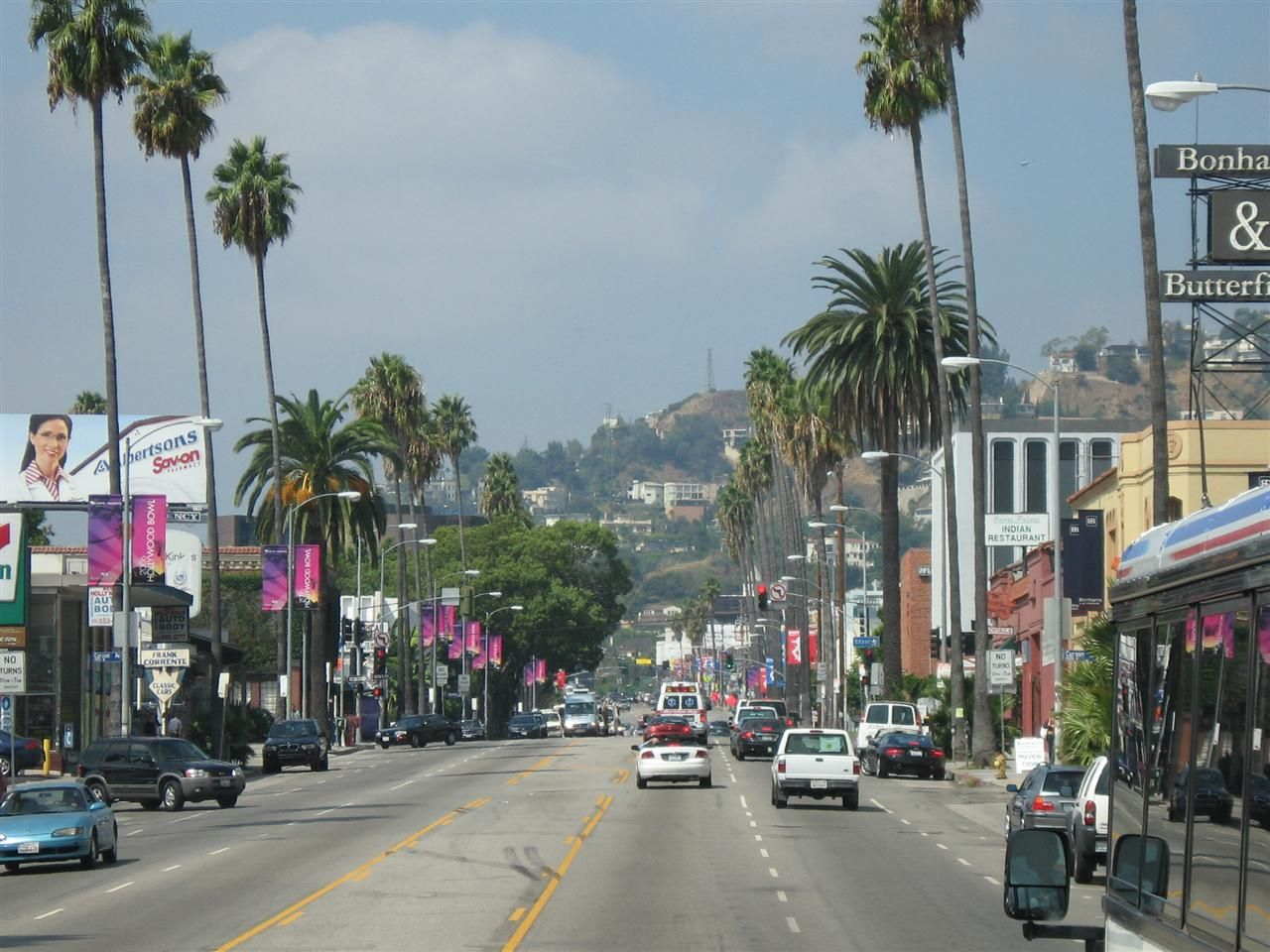 Sunset Boulevard California Travel Favorite Places Los Angeles