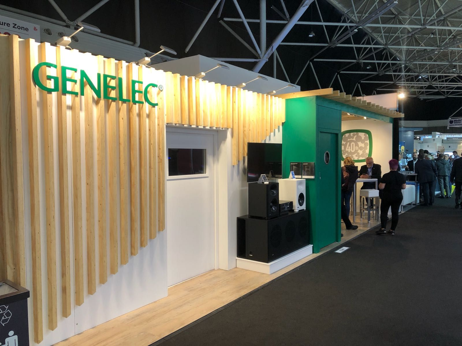 Expo Exhibition Stands Zone : Exhibition stand build genelec the halo group : our structure