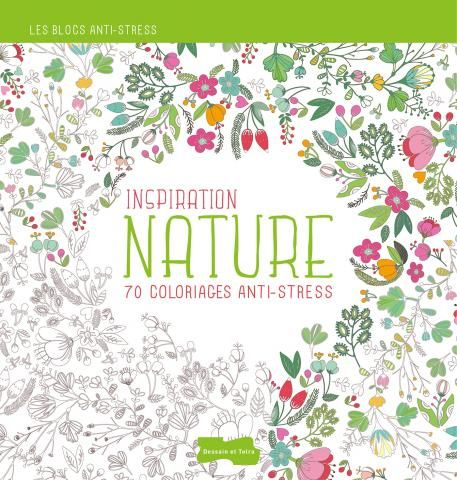 Inspiration Nature 70 Coloriages Anti Stress