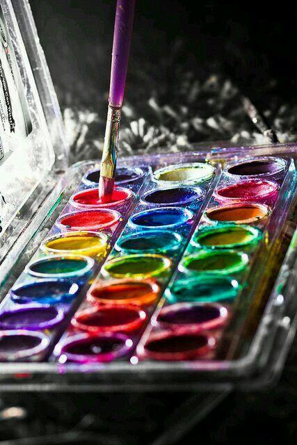 ... grandes y pequeños toques de color ♥