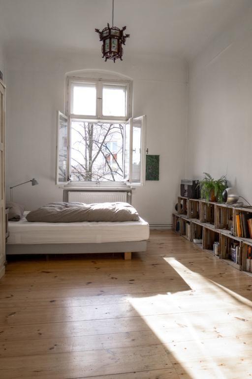Sonnige 1-Zimmer-Altbauwohnung Weserstrasse Neukölln - 1-Zimmer