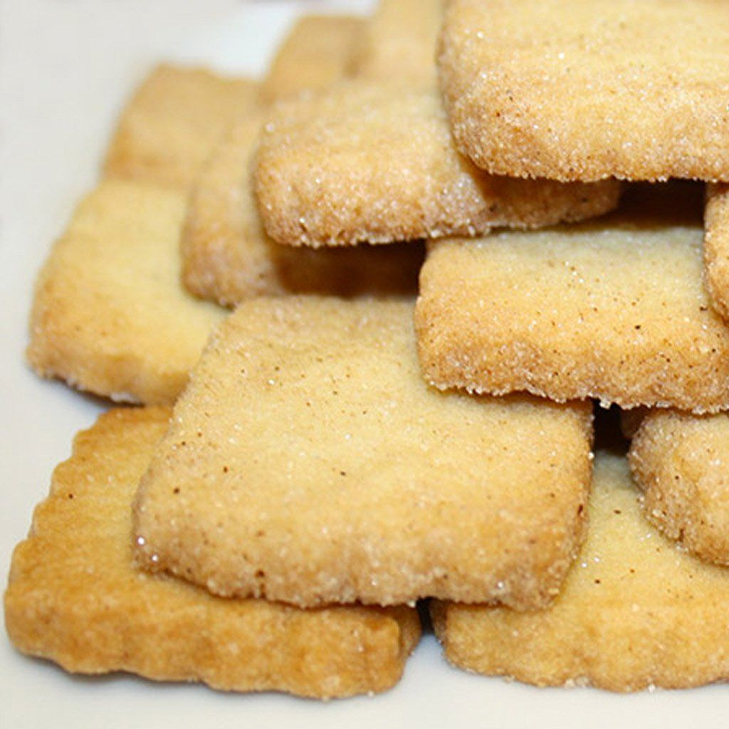 TWO-PACK COOKIES | Custom Ribbon and Hang Tag #cinnamonsugarcookies