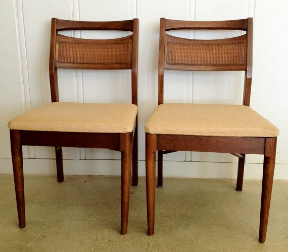 american of martinsville mid century dining chairs - set of 6