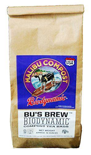 Malibu Compost Bu S Brew Biodynamic Compost Tea Bags 1 L Https Www Amazon Com Dp B01blbqvsq Ref Cm Sw R Pi Awdb X W Compost Tea Bags Compost Tea Compost