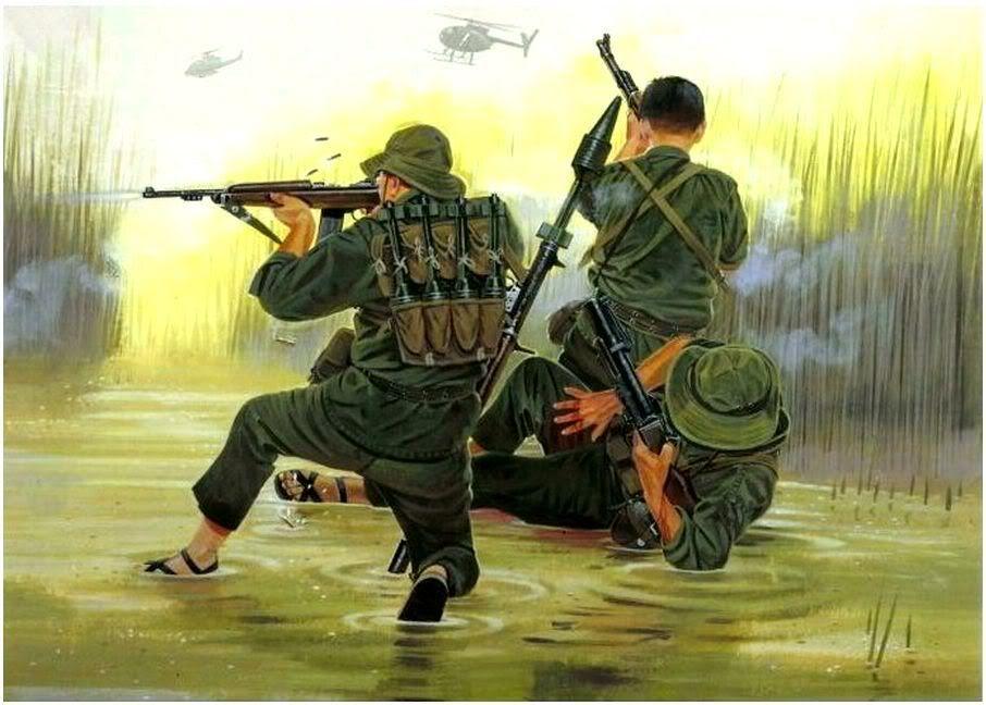 Vietcong Vietnam War Vietnam War North Vietnamese