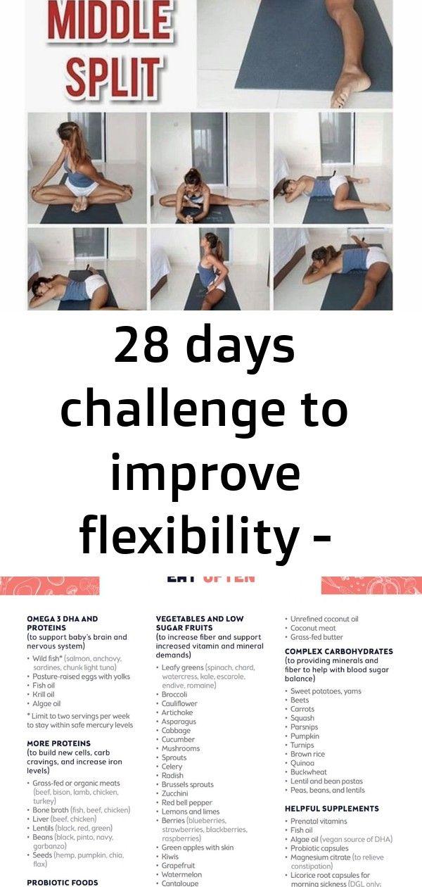 28 Tage Herausforderung zur Verbesserung der Flexibilität – # Herausforderung #Tage #Flexibilität #Verbesserung 2   – 28 day challenge diet food
