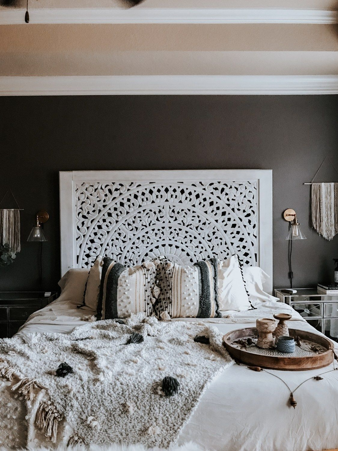 Express Your Individuality With Boho Home Decor With Images Chic Master Bedroom Boho Master Bedroom Boho Chic Bedroom