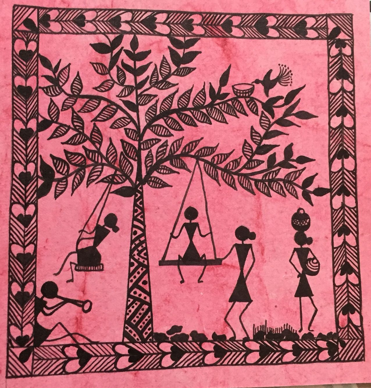 Indian Warli Painting Art